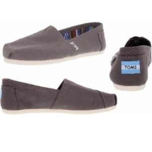 Toms Canvas Slip On Shoes